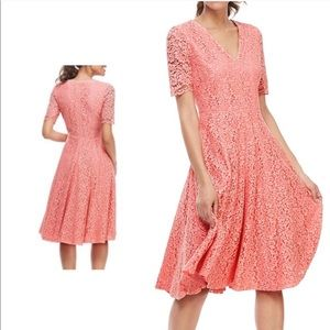 NWT $220 Gal Meets Glam Louisa Lace Pink Dress